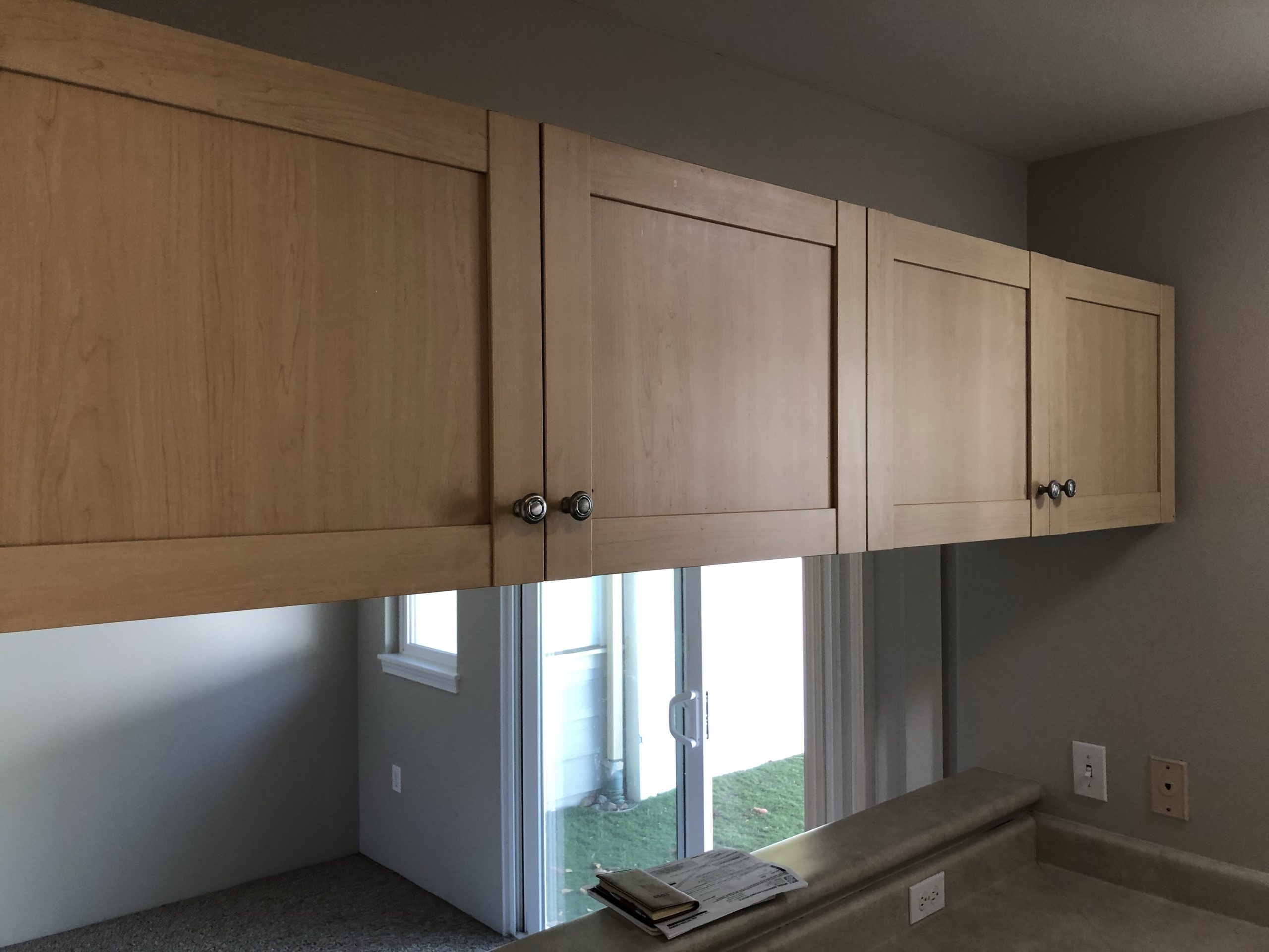 These are Laminate Cabinets 3 of 4